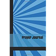 Prayer Journal: A Guided Daily Prayer Book for Teen Boys with Blue Starburst Cover