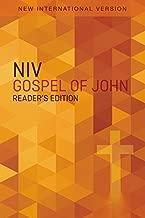 Gospel of John: New International Version, Orange Cross, Reader's Edition