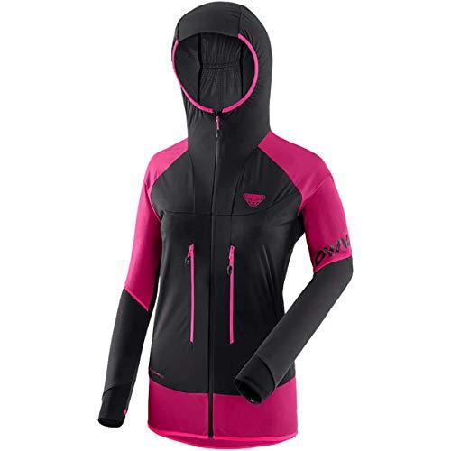DYNAFIT Speed Softshell W Jkt Giacca da donna, Donna, giacca, 08-0000071237, Rosa (Flamingo/0910), 46