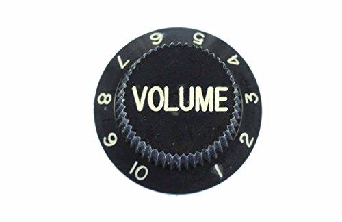 Miniblings Poti Gitarre Volumen Brosche Pin Anstecker Volumenknopf Regler schwz - Handmade Modeschmuck I Anstecknadel Button Pins