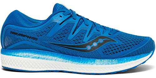 Saucony Men's Triumph ISO 5 Running Shoe, Blue, 10 M US