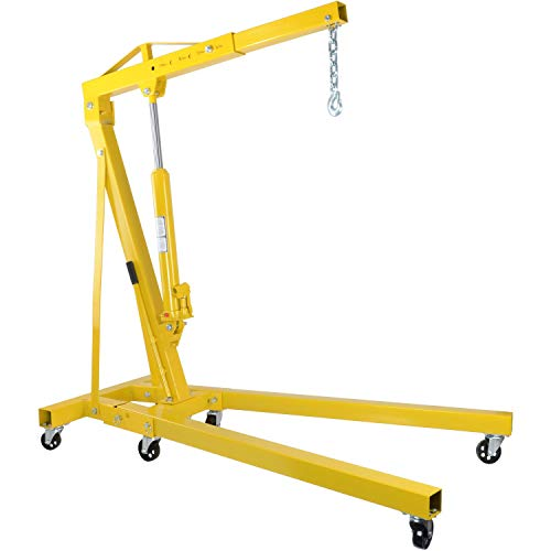"""JEGS 1-Ton Automotive Shop Crane 