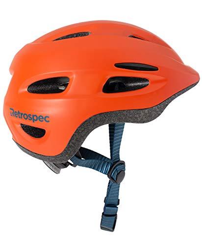 Retrospec Scout-1 Youth Bike & Skate Helmet for Boys & Girls, CPSC Approved for Children, Matte Burnt Orange, XS 45-49cm