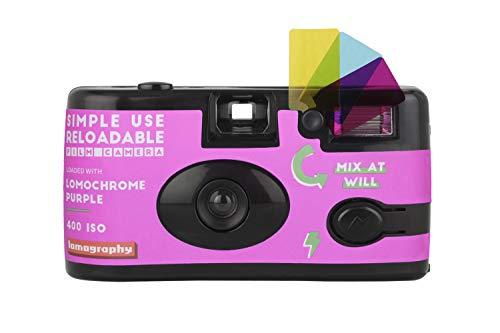 Lomography - Fotocamera LomoChrome, semplice da usare, colore: Viola
