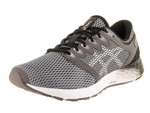 ASICS Roadhawk FF 2 - Zapatillas de correr para hombre, color carbono/blanco 9 M US