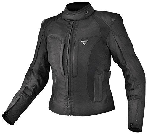 Con Protecciones Shima Monaco Chaqueta para moto Verano Vintage Retro piel mujer protector de espalda