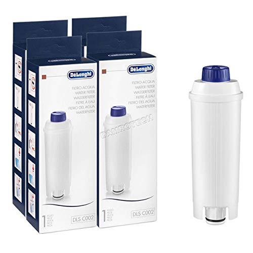 4x Delonghi Wasserfilter Eletta Etam, Anti-Kalk, Enthärter