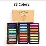 Crayon Soft Dry Pastel 12/24/36/48 Color/Set Of Art Painting Set Chalk Color Crayon Pen PapeleríA