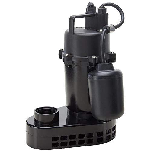 Utilitech 0.33-HPAluminum Submersible Ranking TOP10 148010 Pump Sump Special sale item