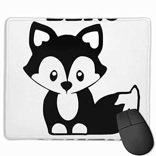 Zero Fox Given Alfombrilla de ratón Rectangular Antideslizante para Juegos Alfombrilla de Goma para