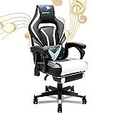 SOUTHERN WOLF Chaise Gaming, Jeu Chaise avec Bluetooth, Bureau Fauteuil avec...
