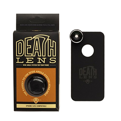 DEATH LENS(デスレンズ) 魚眼レンズ付き iPhoneケース WIDE ANGLE LENS DL 105 iPhone SE/5s/5