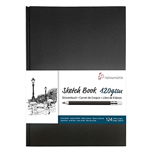 Sketch Book 120 G/M2, Caderno, Tam A5, 64 Fls, Hahnemuehle