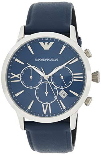 Emporio Armani Reloj Cronógrafo para Hombre de Cuarzo con Correa en Acero Inoxidable AR11226