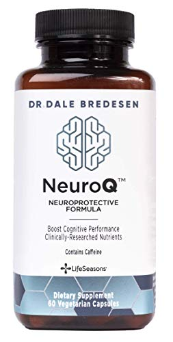 LifeSeasons - NeuroQ - Neuroprotective Formula - Boost Cognitive Performance and Maintain Healthy Brain Function - 60 Capsules