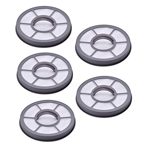 Techypro EF-7 Filter for Eureka AirSpeed Exhaust Vacuum Models AS3001A, AS3008A, AS3011A, AS3020A, AS3030A,5 Pack EF-7 Replacement Parts for Eureka Upright Vacuum Parts 091541
