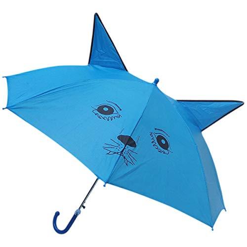 Rainpopson Polyester & Nylon Umbrella (Multicolored_FIV-45080)