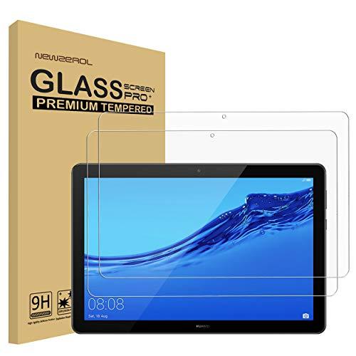 NEWZEROL [2 stück] Ersatz für Huawei MediaPad T5 Panzerglas Schutzfolie,High Definition Anti-Kratzer Bildschirmschutz aus gehärtetem Folie - [Lebenslange Ersatzgarantie]