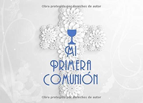 Firma de Primera Comunión Libro: Fiesta de la Primera Comunión Libro de Invitados