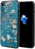 Schutzhülle für iPhone 7/8, Tauchtafel, schmal, flexibel, weiches TPU, stoßfest, kratzfest, Rot...