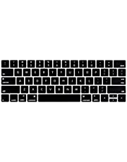 LENTION Silicone Keyboard Cover Skin Compatible 2019-2016 MacBook Pro (13, 15-Inch, with Touch Bar) - Model A2159, A1990, A1989, A1707, A1706, Not Cover the Touch Bar (US Edition, ANSI)