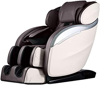 Massage Chair,Zero Gravity Full Body Electric Shiatsu Massage Chair Recliner with Built-in Heat Therapy Foot Roller Air Massage System SL-Track Stretch Vibrating Wireless Bluetooth Speaker Brown PS4