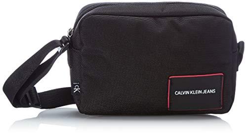 Calvin Klein Jeans Camera Bag, Bolsa para cámara para Mujer, Black, 28 Inches, Extra-Large