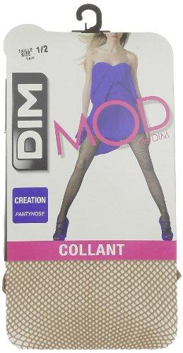 Dim Style Panty Fantasía Rejilla, Medias para Mujer, Transparente (Daim 062) Medium (Tamaño del fabricante:3)