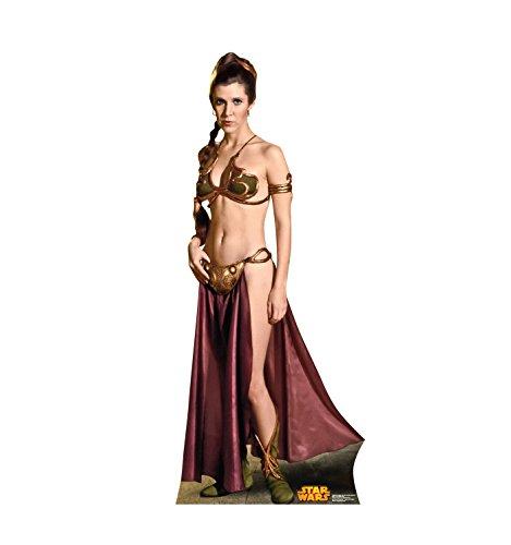Advanced Graphics Princess Leia Life Size Cardboard Cutout Standup - Star Wars Classics Retouched