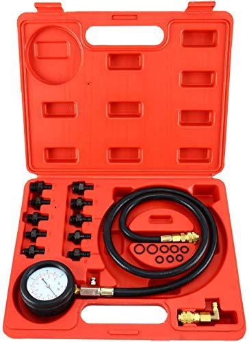 ATP 0-140 PSI Engine Oil Pressure Test Kit Tester Low Oil Warning Devices Gauge
