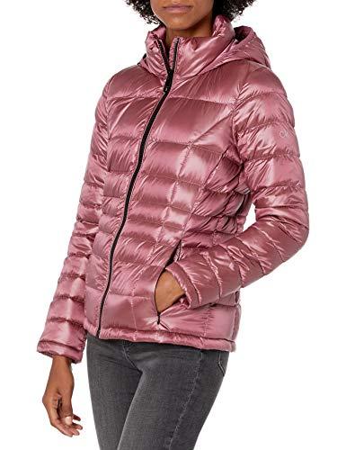 Calvin Klein Womens Short Packable Down Coat, YXD, S