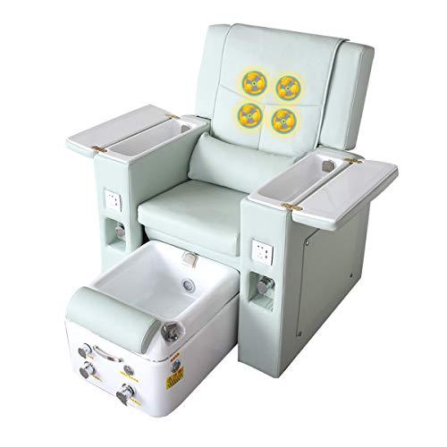 YUYTIN Maniküreofa Schönheit Fußstuhl Schönheit Füße Schönheit Wimpern Tattoo Elektrische Massage Stuhl Liegestuhl Netto Celebrity High-End-Fußbad Spa-Stuhl