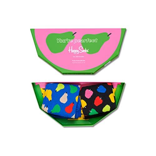 Happy Socks Calze Unisex Fruit Gift Box Confezione da 2 Taglia 41-46