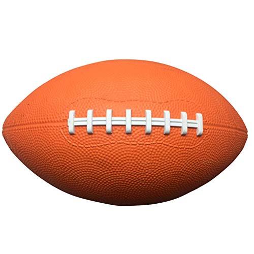 BESTOYARD Fußball Superbowl Amerikanischer Fußball Durable Soft Touch Mannschaftssport Rugby Fußball (Orange)
