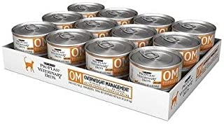 Purina OM Overweight Management Canned Cat Food (24 - 5.5oz cans)