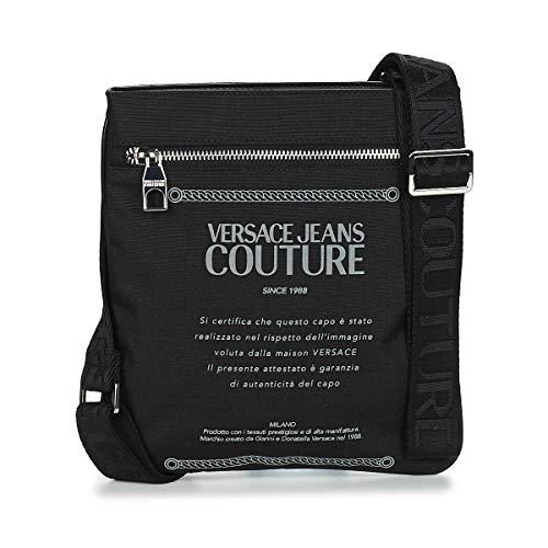 Versace Jeans Couture Damia - Borsetta da uomo, taglia unica, colore: Nero