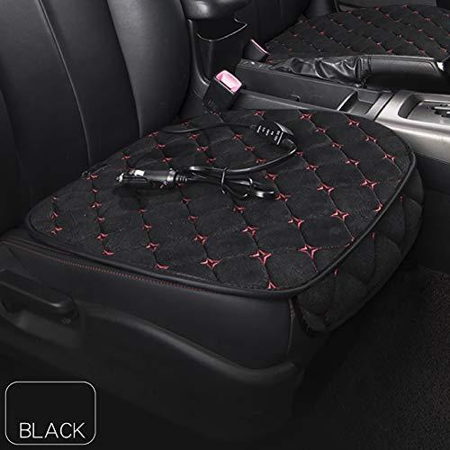 Queta Autositz Heizung, Auto Beheizbare Sitzauflage 12V Sitzheizung Auto Heizauflage Temperatur Einstellbar Heizstufe für universal Auto im Winter