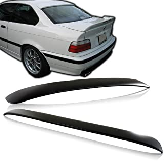 1992-1998 BMW E36 3 Series ABS Plastic Rear Window Visor/Roof Spoiler