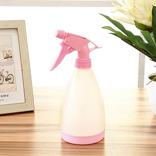 KEFRASS Startseite Wasser-Spray-Anlage Gießkanne Garten-Blumen-Bewässerung Container Wasserkanister Sprühflasche 2020 21X8cm (Farbe : Pink)