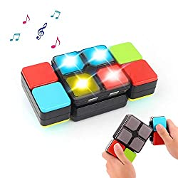 ✔ Novel Musical Puzzle Toy - Inspired by the traditional cube, our magic cube challenges your reaction ability and adds more fun to play. Music and colorful lights creates a exciting atmosphere of challenging like a real game! ✔ Endless Fun - 4 game ...