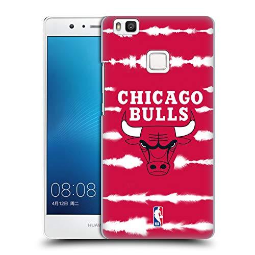 Head Case Designs Oficial NBA Impresión de Rayas Acuarela Chicago Bulls 3 Carcasa rígida Compatible con Huawei P9 Lite / G9 Lite