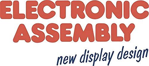 Electronic Assembly 7-Segment-Anzeige Weiß 3.75mm 3.3V Ziffernanzahl: 4 EADIP203J-4NLW