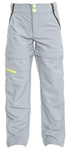 Defender Kids Convertible Walking Trousers - Platinum 11/12