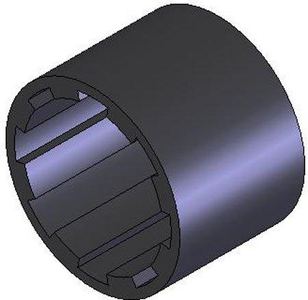 Neoprene Sleeves, Size C, Gear Grip, Flexible Shaft Couplings (1 Each)