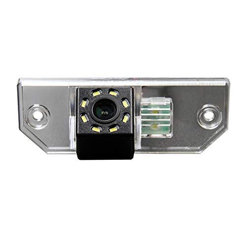 HD 720p Telecamera di Retromarcia Retrocamera Telecamera Posteriore con linee guida per Ranger Explorer Fiesta/Kuga/S-Max C-Max/Mondeo/Focus II