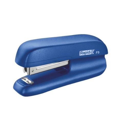 RAPID 5000265 - Grapadora FASHION plástico modelo F5 color azul