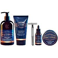 King C. Gillette Complete Men's Beard Care Gift Kit