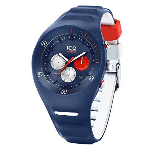 Ice-Watch - P. Leclercq Dark blue - Blaue Herrenuhr mit Silikonarmband - Chrono - 014948 (Large)