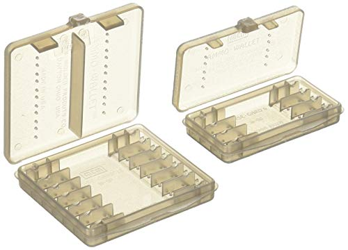 MTM 18 Rounds 38 Cal Case-Gard Ammo Wallet (Clear Smoke)