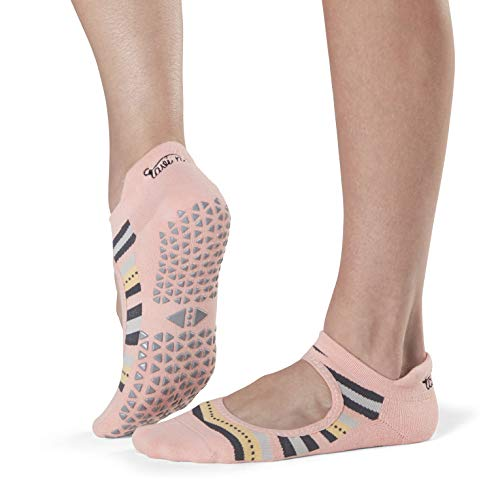 Tavi Noir Damen Grip Barre, Dance, Pilates, Yoga Women's Emma Non-Slip Socks, Prado, Größe S
